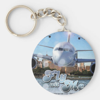 Fly Wit Me Keychain