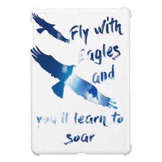 Fly with eagles iPad mini cases
