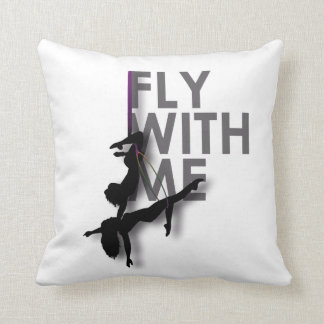 """Fly With Me"" Aerial Silks Pillow - BFF Goals"
