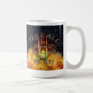 Flyball Flamz: Drag Racing for Dogs! Jumbo Mug