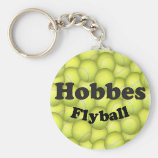 Flyball Hobbes, 100,000 Points Basic Round Button Keychain