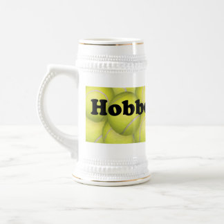 Flyball Hobbes, 100,000 Points Beer Stein