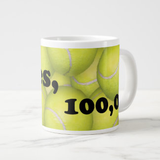 Flyball Hobbes, 100,000 Points Large Coffee Mug