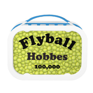 Flyball Hobbes, 100,000 Points Lunch Box