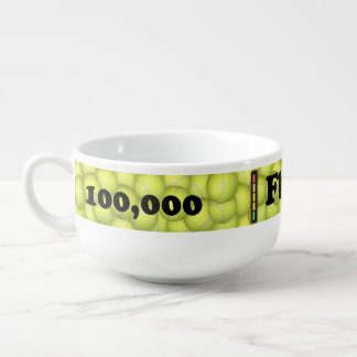 Flyball Hobbes, 100,000 Points Soup Mug