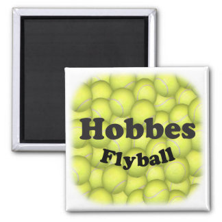 Flyball Hobbes, 100,000 Points Square Magnet