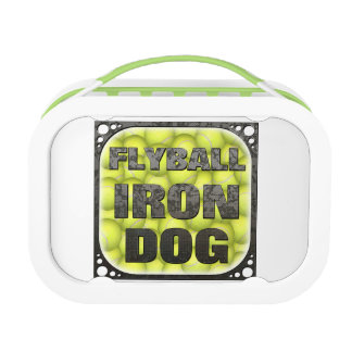 Flyball Iron Dog - 10 years of competition! Lunch Box