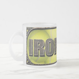 Flyball Iron Dog Frosted Coffee Mug