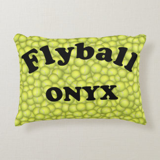 Flyball ONYX, 20,000 Points Decorative Pillow