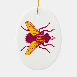 Flyby Ceramic Ornament