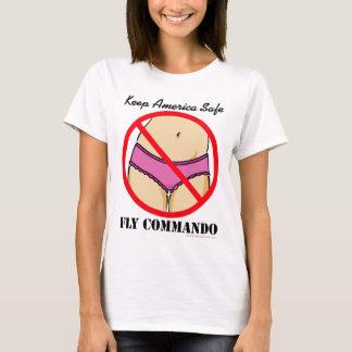 FlyCommando-Panties T-Shirt