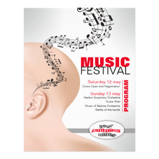 flyer for musical event