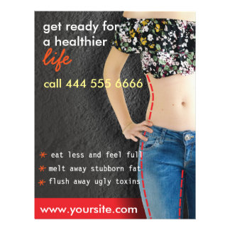 flyer to advertise dietary approach
