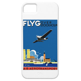 Flyg Over Stockholm iPhone 5 Cases
