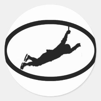 Flyin' Bruin Round Sticker