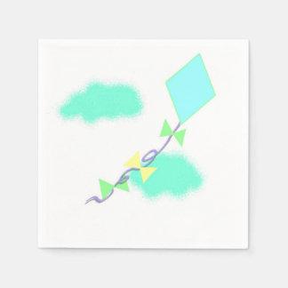 Flying a Kite Paper Napkin