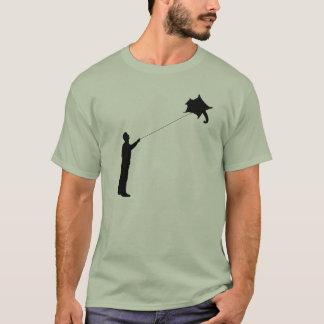 Flying a Sugar Glider Kite T-Shirt