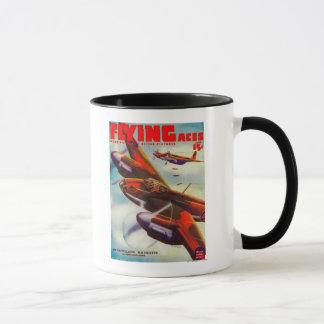 Flying Aces Magazine Cover 4 Mug