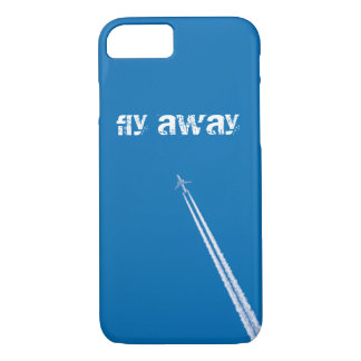 Flying airplane iPhone 8/7 case