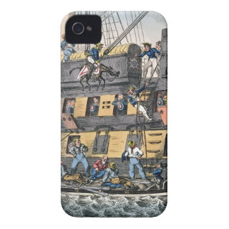 Flying Artillery or A Horse Marine (colour engravi iPhone 4 Cover