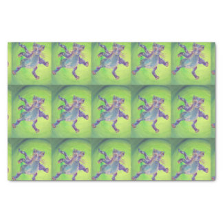 flying attack cat tissue paper