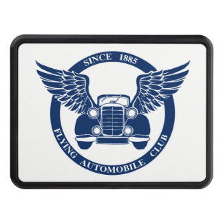 Flying Automobile Club Trailer Hitch Cover