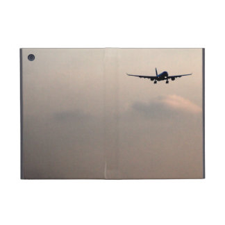 Flying Away Airplane Up in The Sky Over The Clouds iPad Mini Covers