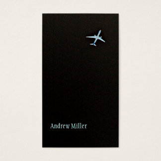 Flying Away | High Altitude Airplane Business Card