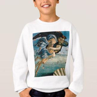 flying away in love sweatshirt