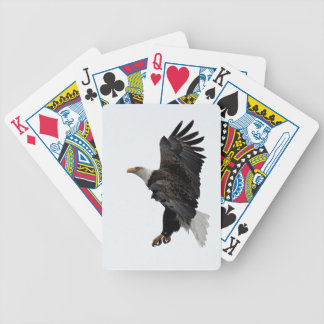 Flying Bald Eagle Bicycle Playing Cards