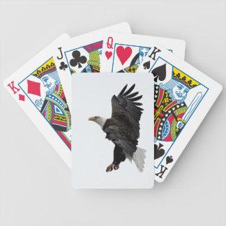 Flying Bald Eagle Poker Deck