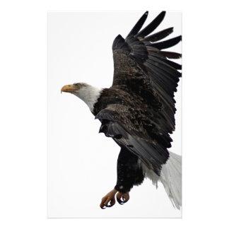Flying Bald Eagle Stationery