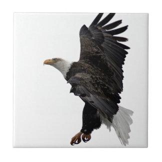 Flying Bald Eagle Tile
