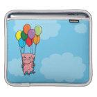Flying Balloon Pig iPad Sleeve