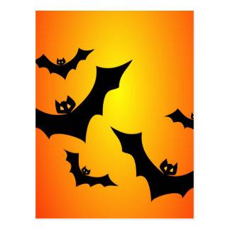 Flying Bats Postcard
