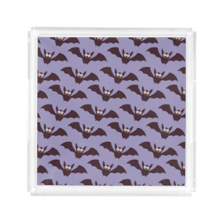 flying bats serving tray