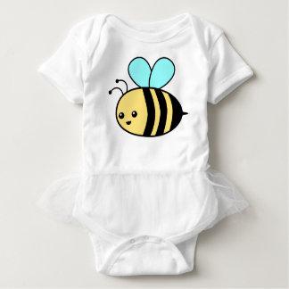 Flying Bee Baby Bodysuit