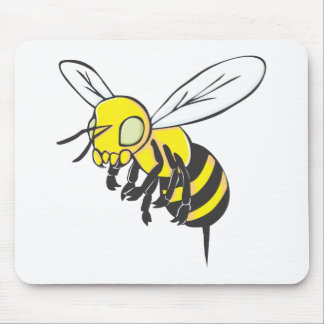 Flying Bee Insect Mouse Pad