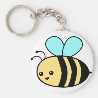 Flying Bee Keychain