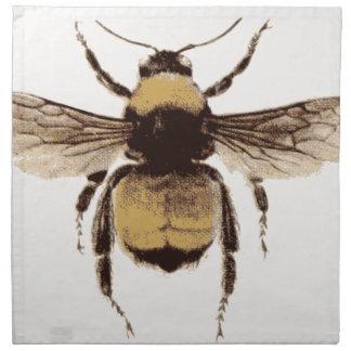 Flying Bee Napkin