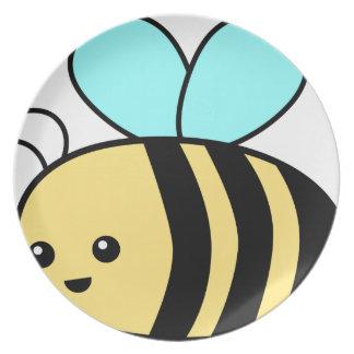 Flying Bee Plate