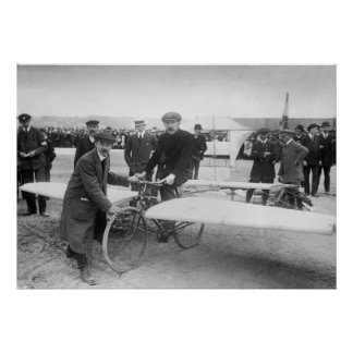 Flying Bicycle Contest 1912 Print
