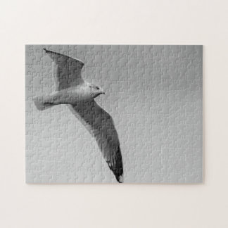 Flying bird jigsaw puzzle