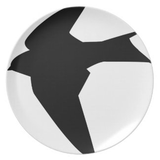 Flying Bird Plate