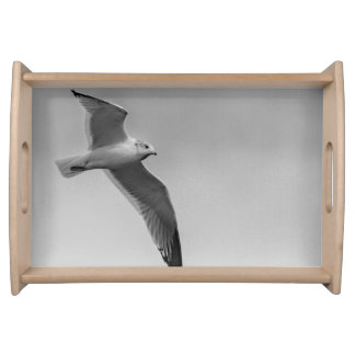 Flying bird serving tray