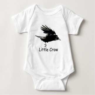 Flying Black CROW Art for Baby T-shirt