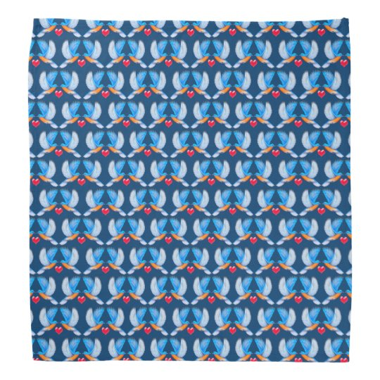 Flying Bluebirds of Happiness Bandana