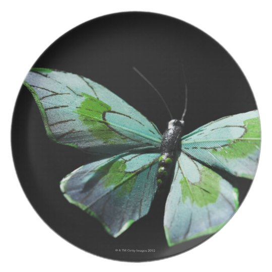 Flying butterfly plate