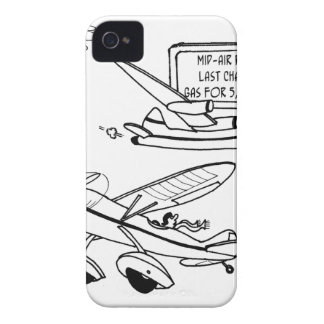 Flying Cartoon 3682 Case-Mate iPhone 4 Case