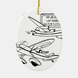 Flying Cartoon 3682 Ceramic Ornament